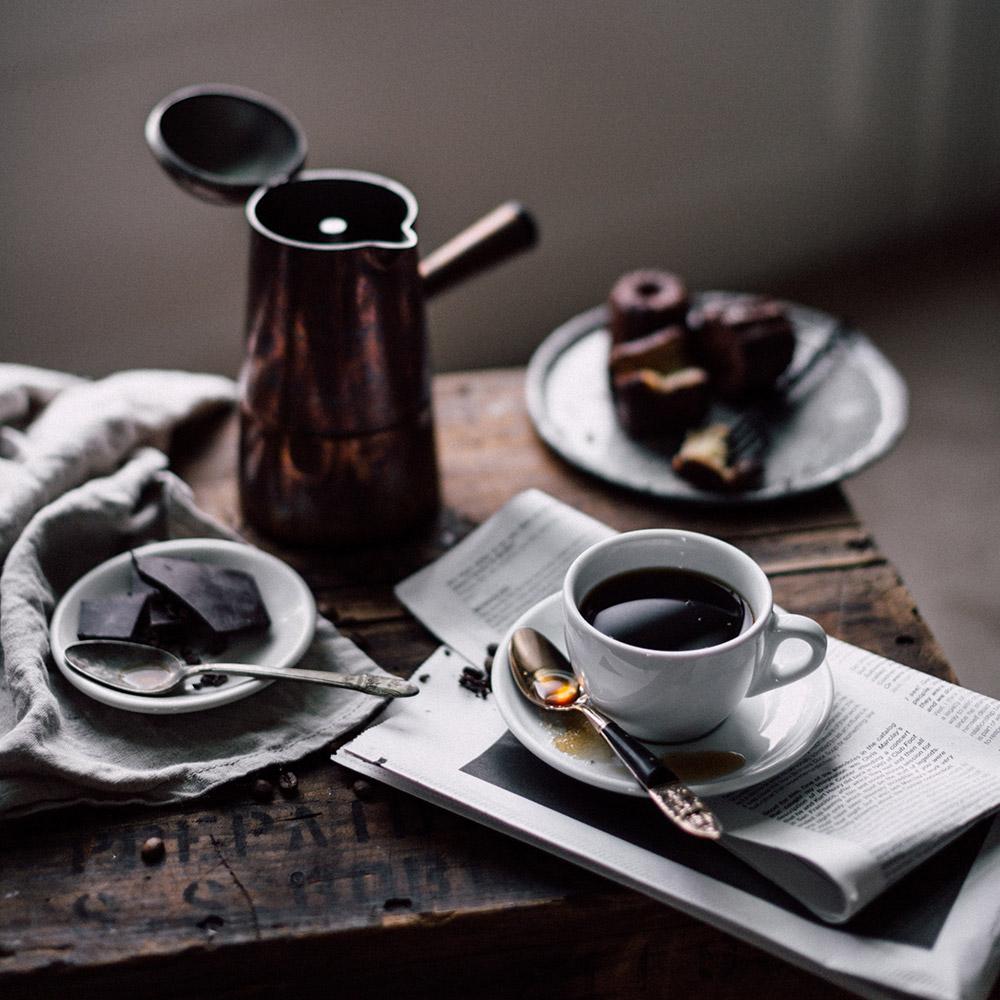 鮮度の良いコーヒー豆は香りが違います。